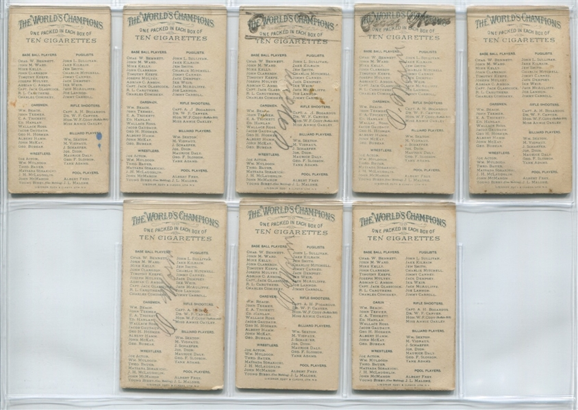 N28 Allen & Ginter World's Champions - First Series Complete set of (50)