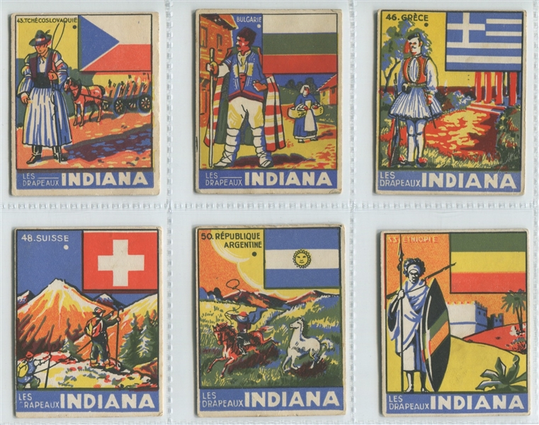 Fantastic Donat (France) Flags Group of (30) Cards