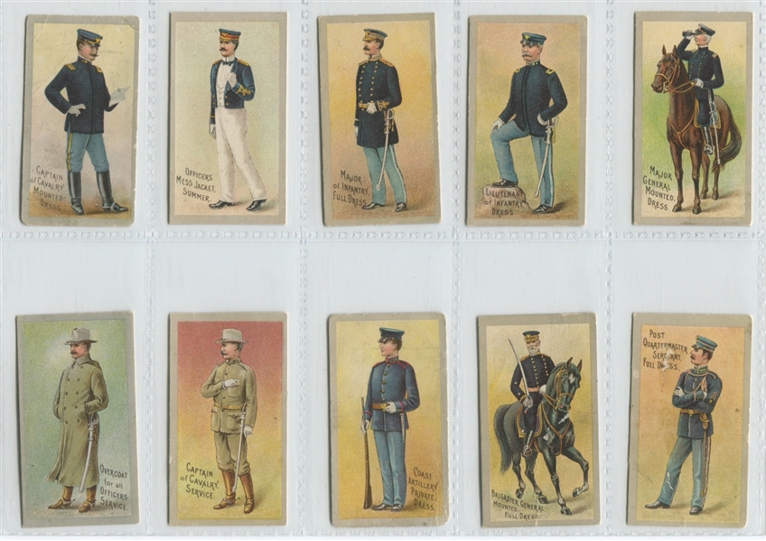 E170 Heide's Candy Military Complete Set of (24) Cards