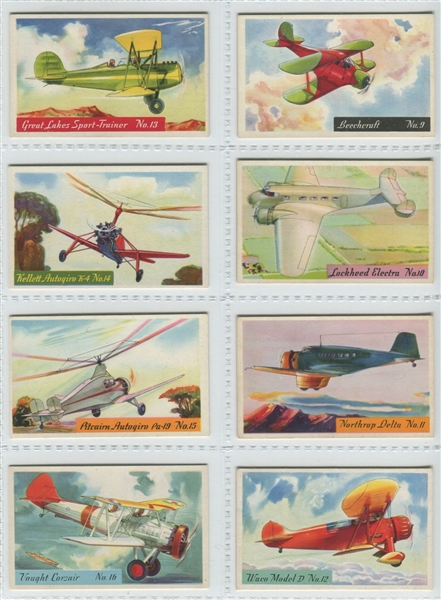 F277-1 Heinz Cereal Airplanes Complete Set of (25)