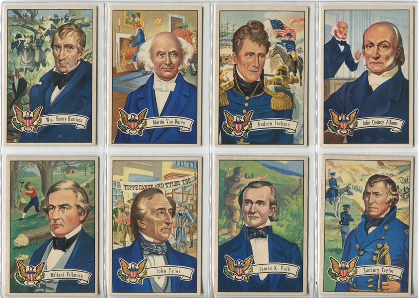 1952 Bowman Presidents Complete Set of (36)