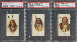 N2 Allen & Ginter American Indians Lot of (3) in PSA4-5