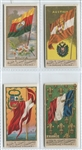 N9 Allen & Ginter Flags of All Nations Lot of (4) Cards