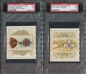 N44 Allen & Ginter World Decorations Lot of (3) PSA5-Graded Cards