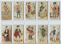 N31 Allen & Ginter Worlds Dudes lot of (14) Cards