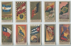 N9 Allen & Ginter Flags of All Nations First Series set of (48) Cards