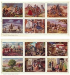 "1933 Kroger ""American History"" Album and Complete Set of (10) Uncut Sheets"