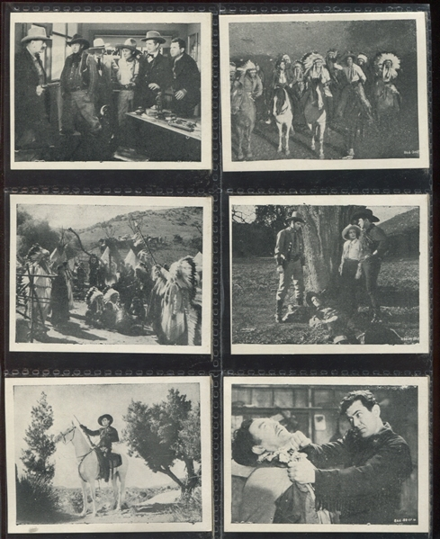 Wild West Days Movie Card Complete Set of (12) Cards
