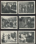 """Wild West Days"" Movie Card Complete Set of (12) Cards"
