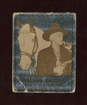 1950 Topps Hopalong Cassidy FOIL Card - Devils Playground