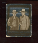 1950 Topps Hopalong Cassidy FOIL Card - Fools Gold
