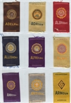 1910s S25 Egyptienne Luxury Near Complete Set (146/148) Tobacco Silks
