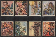 1950 Bowman Wild Man Complete Set of (72) Cards