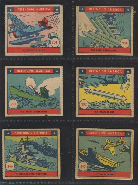 R40 Defending America Complete Set of (48) Cards