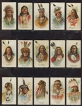 N2 Allen & Ginter American Indian Chiefs Complete Set of (50) Cards