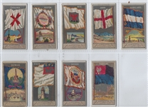 N6 Allen & Ginter City Flags Lot of (9) Cards