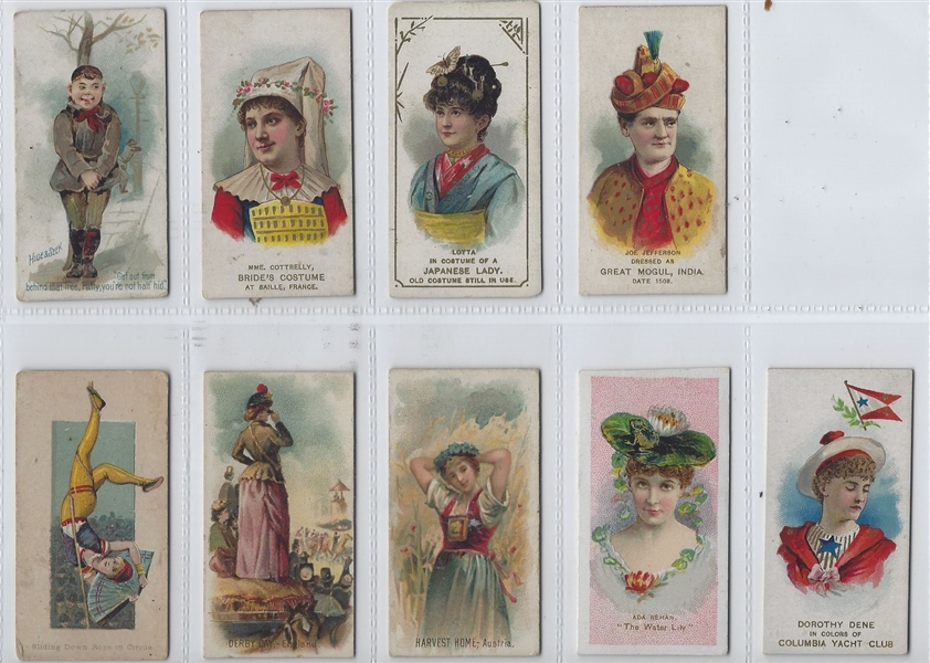 Mixed Lot of (27) Duke and Kinney VG to VGEX Cards
