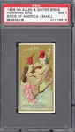 N4 Allen & Ginter Birds of America - Hummingbird PSA7 NM