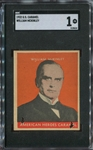 R114 U.S. Caramel Presidents (1932) Complete Cancelled Set with Impossible William McKinley - All SGC Graded