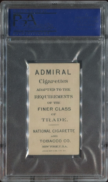 N388 National Cigarettes National Types - American PSA5.5 EX+
