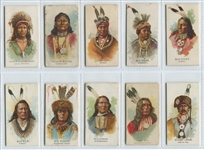 N2 Allen & Ginter American Indians Complete Set of (50) Cards