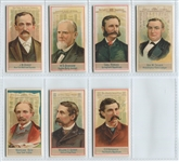 N1 Allen & Ginter American Editors Lot of (7) High Grade Cards