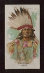 N2 Allen & Ginter American Indians ERROR Card - British Ioway