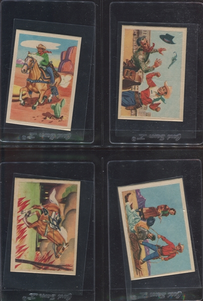F278-19 Post Cereal Roy Rogers Pop-Out Card Complete Set of (36) Plus Extras