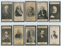 1908-1922 Felix Potin (France) Lot of (360) Cards with Thomas Edison and Cyclists