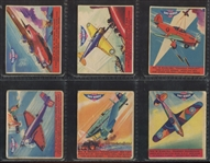 R137 Goudey Gum Sky Birds Complete Set of (24) Cards
