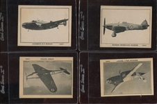 FC18 Saratoga Potato Chips Airplane Cards Lot of (4) Cards