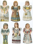 E-UNC Stollwercks Cocoa and Chocolate Paper Doll Complete set of (16)