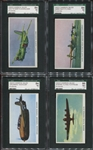 R10 Cameron Sales Airplanes Lot of (20) SGC-Graded Cards