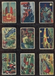 1951 Bowman Jets Rockets and Spacemen Lot of (42)