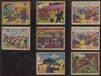 R108 Pulver Pictures Weapons Lot of (8) Cards