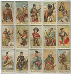 N3 Allen & Ginter Arms of Nations Complete Set of (50) Cards