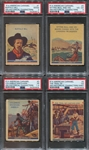 R14 American Caramel Historical Figures Lot of (7) PSA-Graded Cards