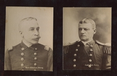 N158 Duke Honest Long Cut Tobacco War Photographs Near Set (24/28)