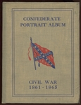 E-UNC American Chicle Kis-Me Gum Confederate Portrait Album with Complete Set