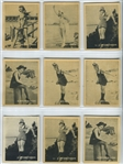 C142-3 Tobacco Products Corp (Canada) Strollers Large Format Lot of (65) Cards - Mack Sennett Stars