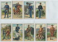 T81 Recruit Little Cigars Military Near Set (31/50) Cards