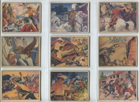 R83 Lone Ranger Complete Set of (48) Cards With All High Numbers