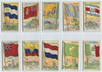E18C John Dockman Flag Gum Lot of (18) Flag Cards