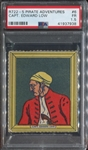 R722-5 Novel Candy Pirates #6 Capt Edward Low PSA1.5