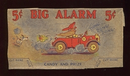 R191 Big Alarm Candy Fire Truck Card