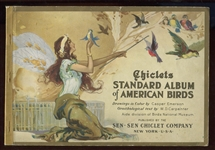 E225 Chiclets Gum Standard Album of American Birds - Card Companion