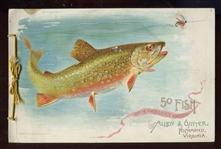 A7 Allen & Ginter Fish From American Waters Album