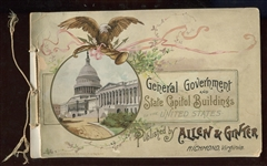 A10 Allen & Ginter General Government and State Capitol Buildings Album