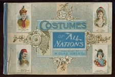 A26 Duke Tobacco Costumes of All Nations Album