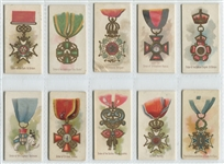 N30 Allen & Ginter Worlds Decorations Lot of (11) Cards